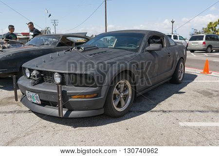 Mustang Post-apocalyptic Survival Vehicle