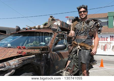 Post-apocalyptic Survival Costume Man
