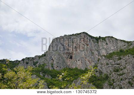 Cliffs Under Sky