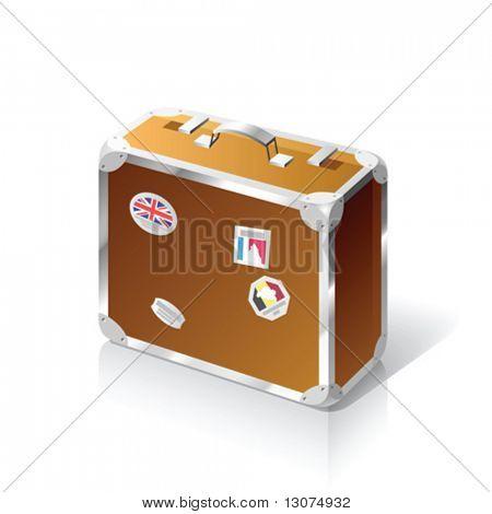 Vector travelling bag