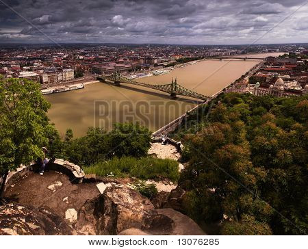 Budapest, the capital of Hungary is one of the nicest cities. It lies on both sides of the river Danube.