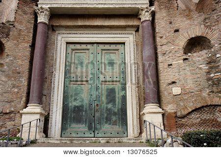 Romulus temple in Rome