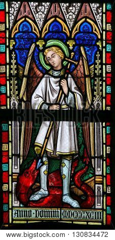 Stained Glass - Saint Michael