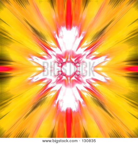 this is a color abstract. poster