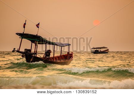 Tropical Sunrise Of Koh Rong