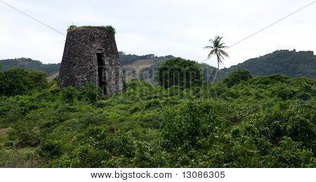 Ruined Tropical Sugar Mill