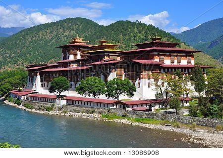 Phunaka dzong / fortress