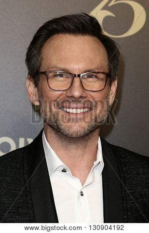 NEW YORK-MAY 21: Christian Slater attends the 75th Annual Peabody Awards Ceremony at Cipriani Wall Street on May 21, 2016 in New York City.