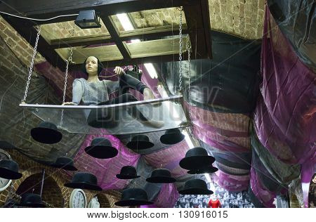 London England - January 31 2012: A fashion store in Camden town