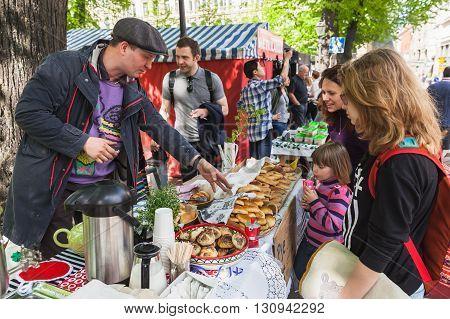 Helsinki Restaurant Day, Seller Of Pies
