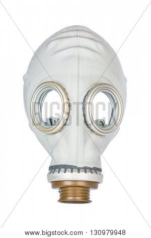 Retro Gas Mask isolated on White Background