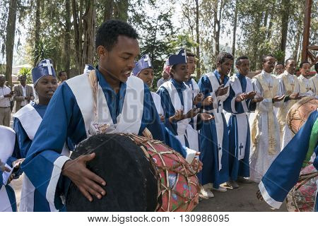 Ethiopian Orthodox Church Choir