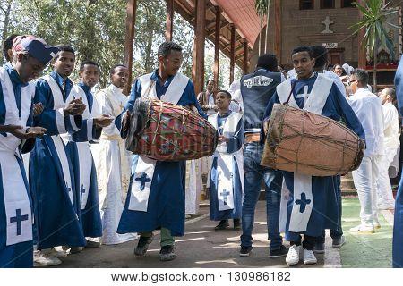 Ethiopian Orthodox Church Choir