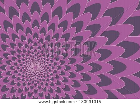 Purple two tone flower Background Vector Illustration design