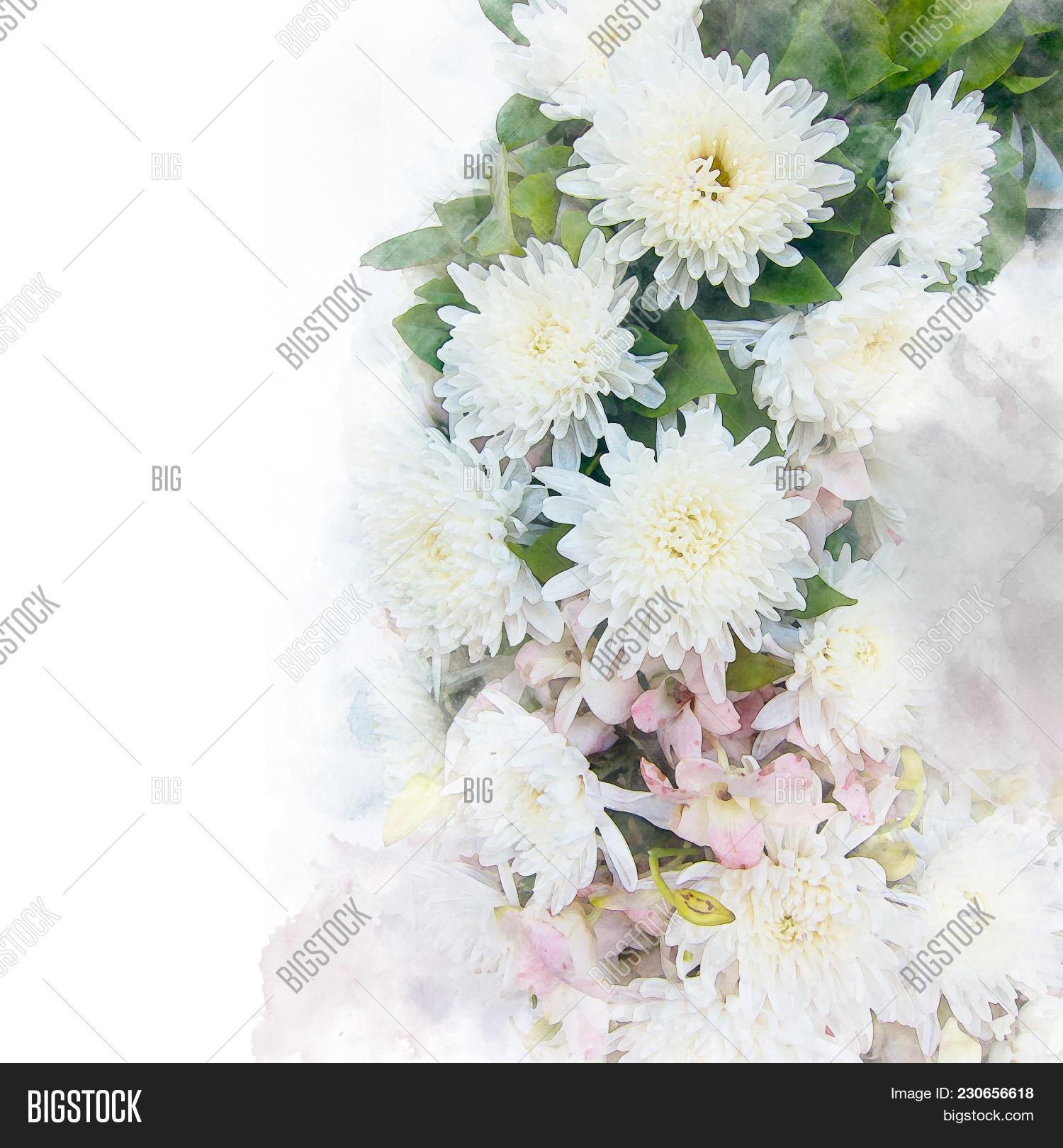 Illustration Blossom Image Photo Free Trial Bigstock