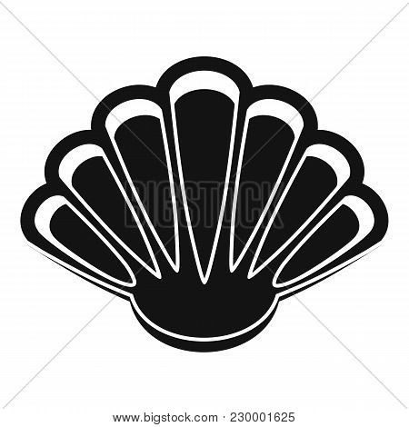Nice Shell Icon. Simple Illustration Of Nice Shell Vector Icon For Web