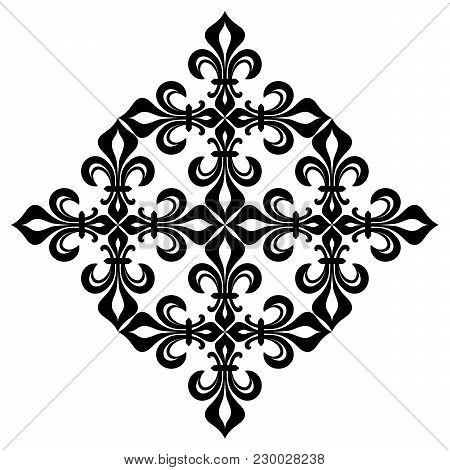 Lace-de-luce (lace Of Lilies), Detail Of Delicate Pattern