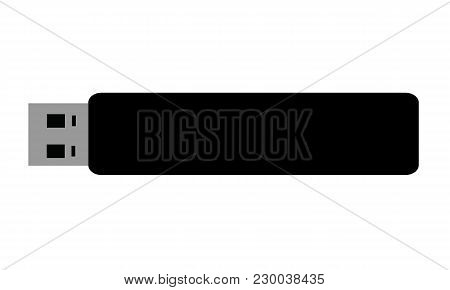 New Flash Disk Icon Vector Design Object