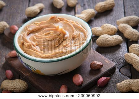 Peanut butter spread used as breakfast and snack