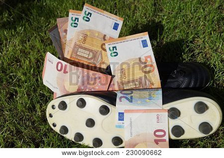 Paid Professional Football / Soccer Becomes More And More Commerce With Crazy Sums Of Money For Chan