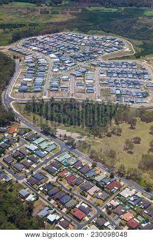 Urban Sprawl - Newcastle - New South Wales Australia