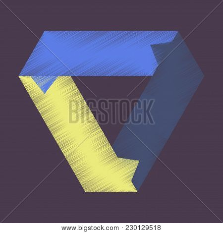Flat Shading Style Icon Arrows Signpost Right