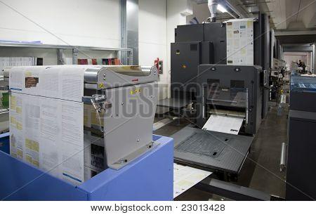 Stampa stampa offset