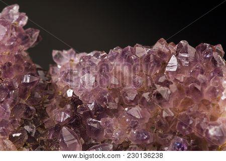 Amethyst Mineral Specimen Quartz Purple Gem Stone