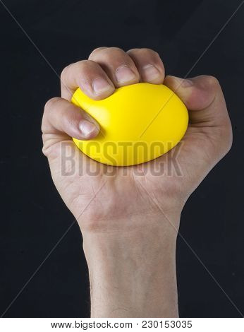 Hand Squeezing Stress Ball
