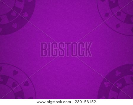 Pattern For A Casino On The Purple Cloth