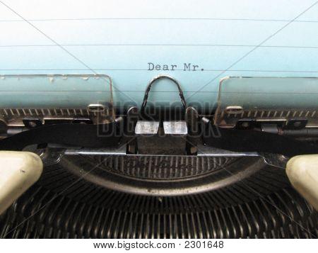 Type - Letter