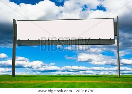 Giant Poster Outdoor Advertising