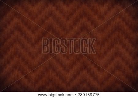 Grenadine Colored Fabric Texture, Textile Background Flax Surface, Canvas Swatch.