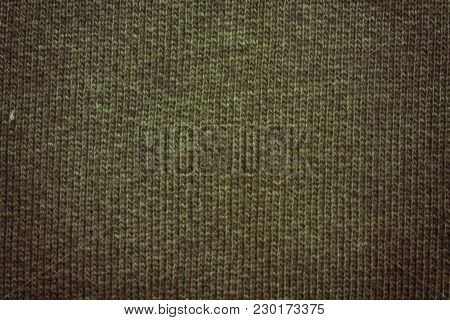 Gatsby Gold Colored Texture Cotton Sack Sacking Country Background.