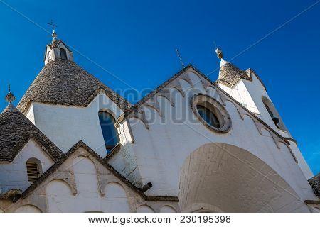 The Trulli Church Of Sant Antonio Da Padova - Apulia Region, Italy, Europe