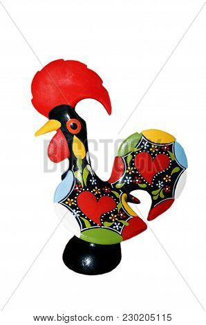 Barcelos Rooster Portuguese Traditional Decoration  Statue  Culture