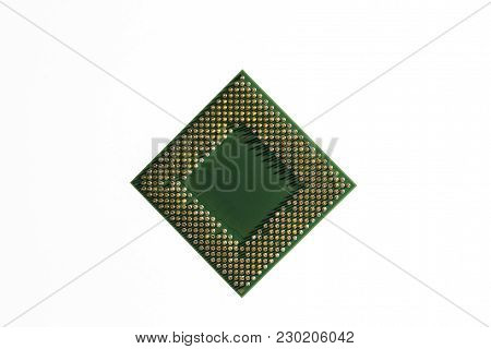 Central Processor. Cpu Is A Heart Of Most Electronic Circuits That Centralized All Commands And Proc