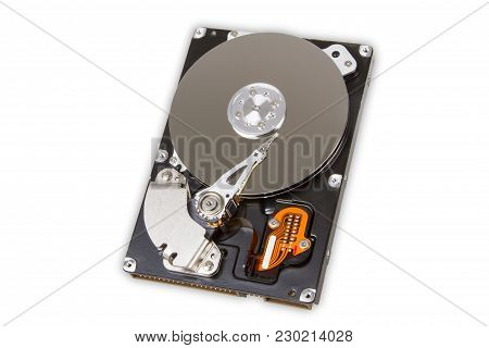 Hard Drive Disk Isolated On White Background