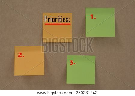 Sticky Notes With Word