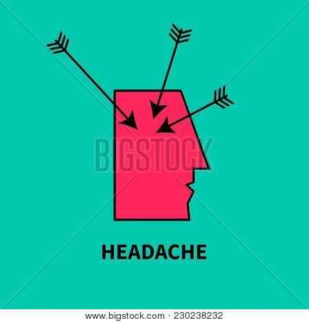 Icon Headache Vector Photo Free Trial Bigstock
