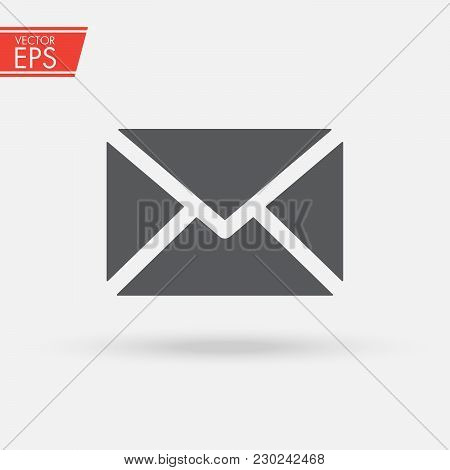 Mail Icon. Email Sign Vector Illustration. Isolated Web Mail Symbol. Envelope Line Concept. Email Me