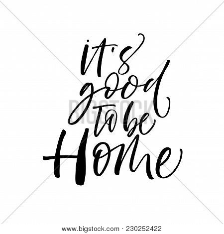 It's Good To Be Home Card.