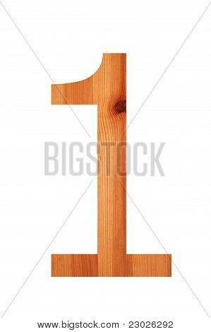 Wood Alphabet 1