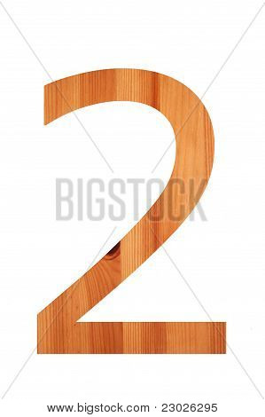 Wood Alphabet 2