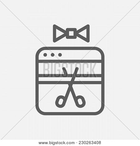Launch Icon Line Symbol. Isolated Vector Illustration Of  Icon Sign Concept For Your Web Site Mobile