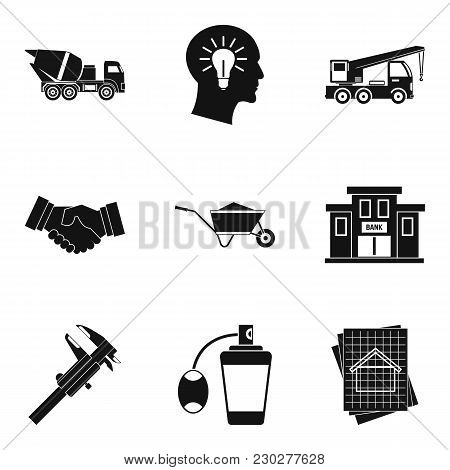 Workforce Icons Set. Simple Set Of 9 Workforce Vector Icons For Web Isolated On White Background