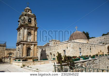 Monastery Of The Cross In Jerusalem, Israel