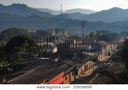 City Of Gracias In Honduras