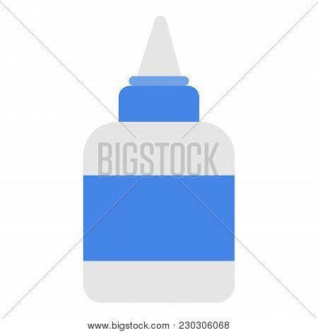 Glue Icon. Flat Illustration Of Glue Icon For Web