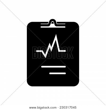 Cardiology Vector Icon On White Background. Cardiology Modern Icon For Graphic And Web Design. Cardi
